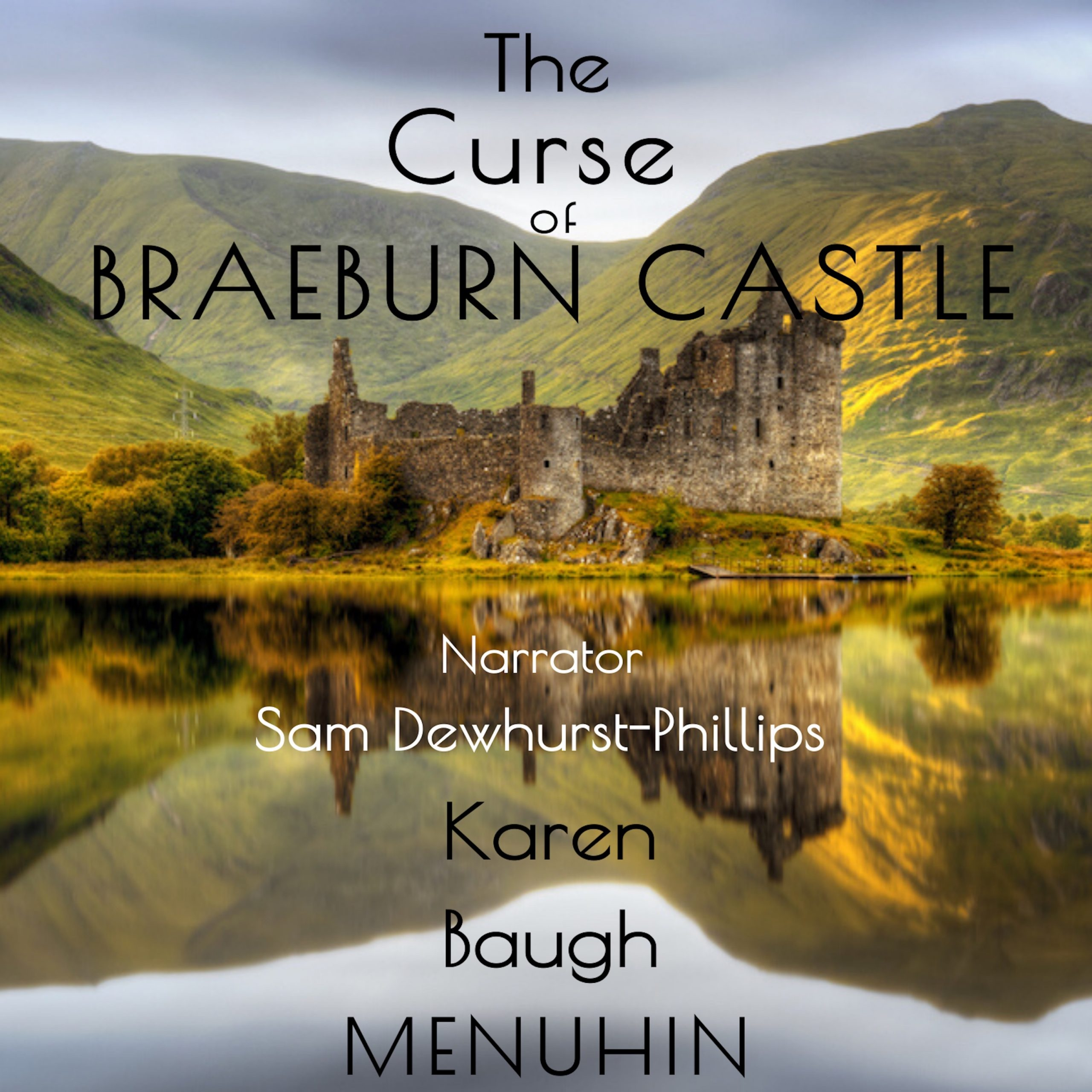 The Curse of Braeburn Castle Audiobook Cover