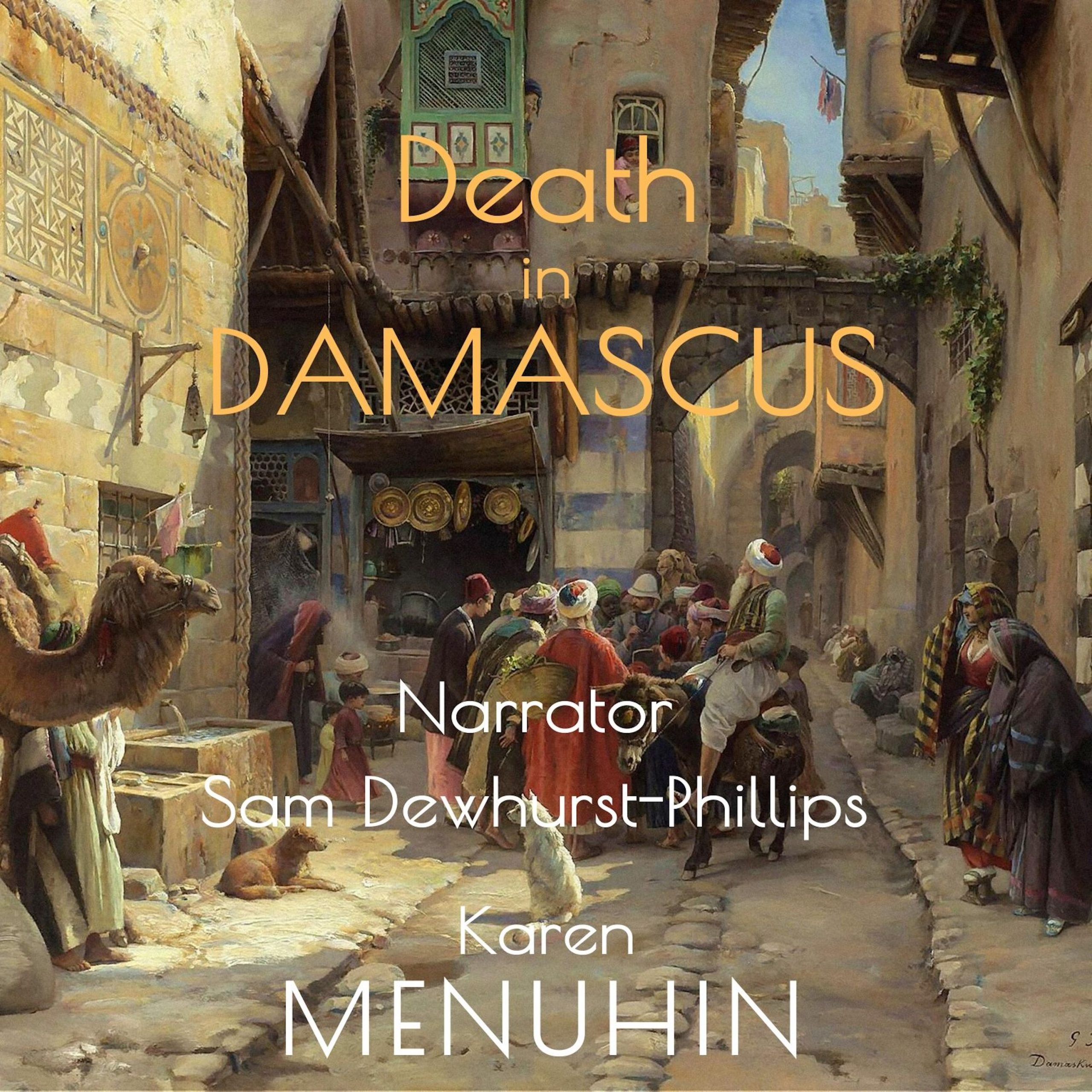 Death in Damascus Audiobook Cover