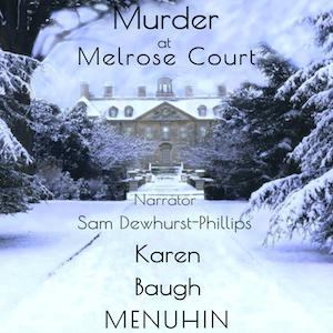 Murder at Melrose Court Audiobook Cover