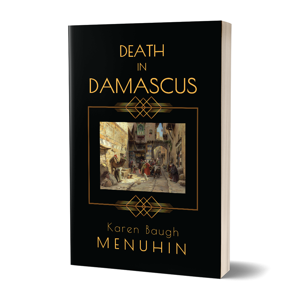 Death in Damascus Book Cover