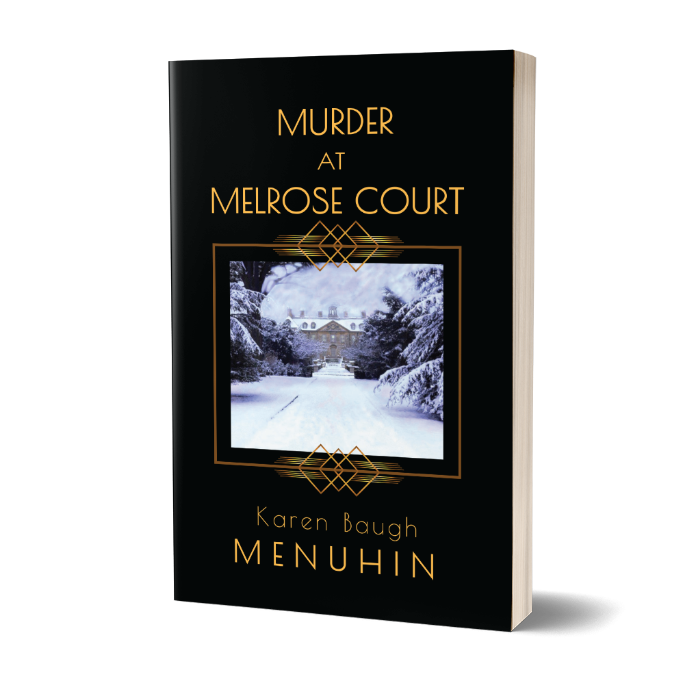 Murder at Melrose Court Book Cover